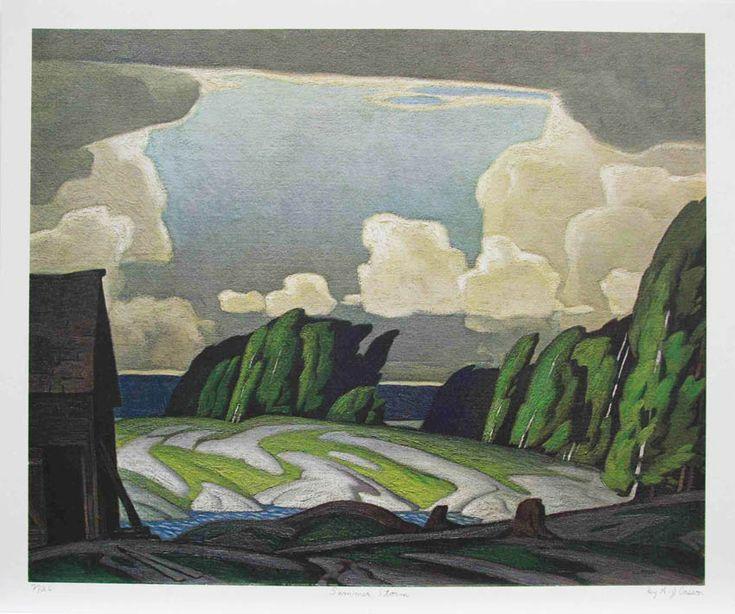 A.J. Casson - Summer Storm