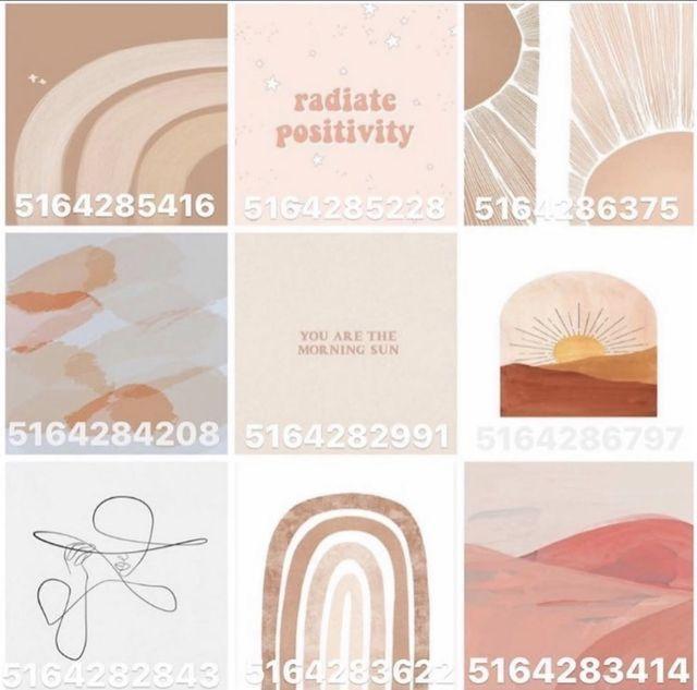 Asthetic Pics For Bloxburg Modern Decals Custom Decals Decal Design