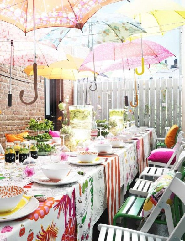 10 idea for super-affordable decor for your summer parties