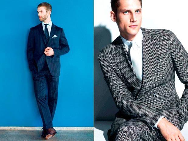 Какого цвета обувь носить с синими костюмом