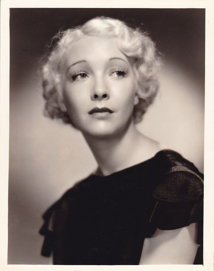 HELEN TWELVETREES Beautiful Original Vintage 1934 FREULICH DBW Portrait Photo