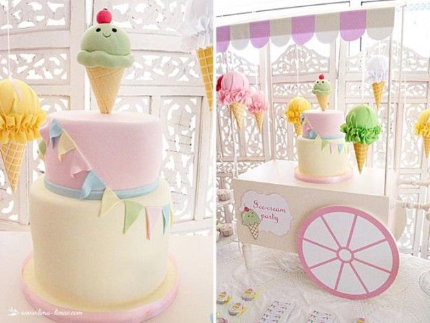 Ice Cream Party with Lots of Darling Ideas via Kara's Party Ideas | KarasPartyIdeas.com #IceCream #Party #Ideas #Supplies (10)