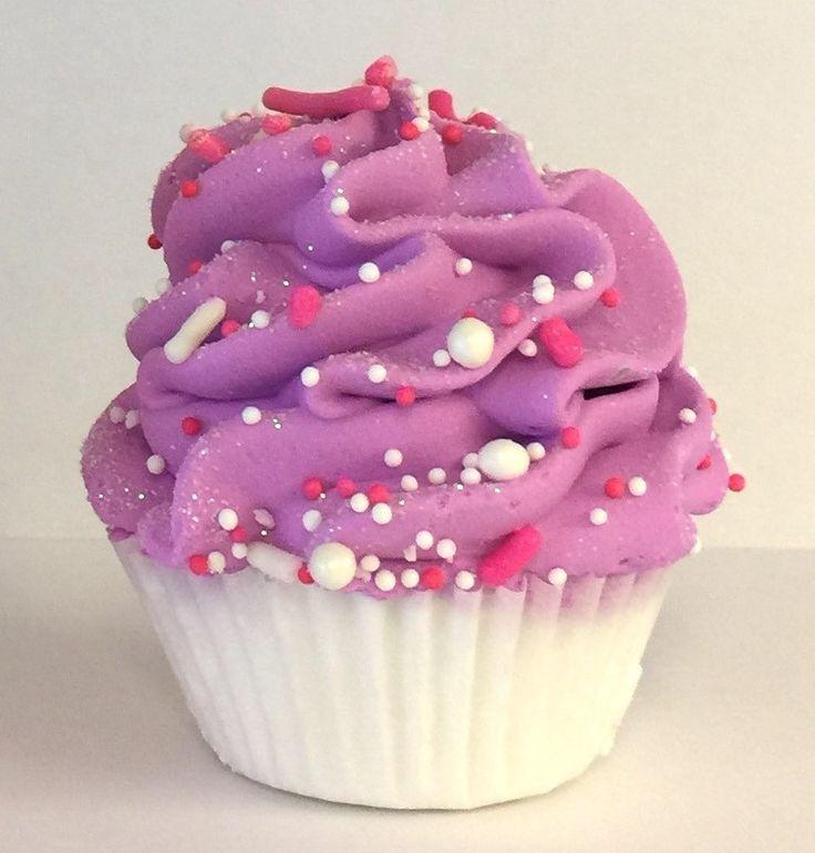 Mini Cupcake Bath Fizzer, Lavender Vanilla