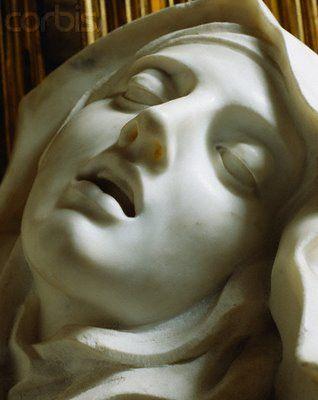 Extasis de Santa Teresa. Gian Lorenzo Bernini. Roma. Italia.