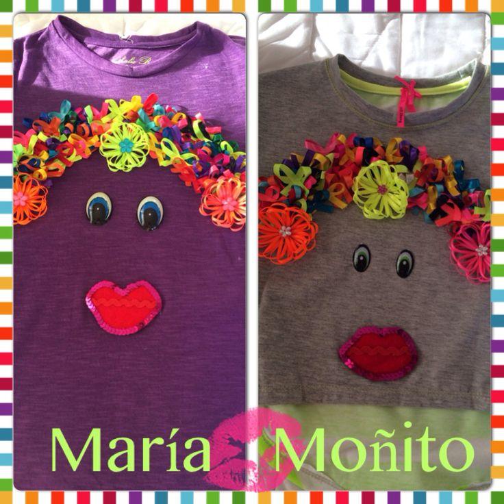 Camiseta María moñito