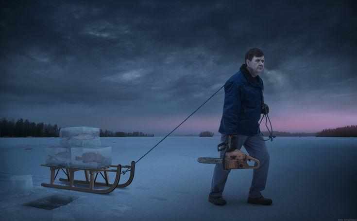 """""""Fresh Frozen Fish"""" - by Erik Johansson"""