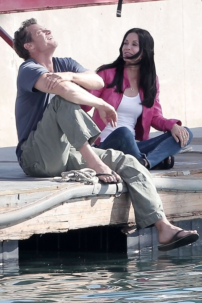 Brian Van Holt Photos: Brian Van Holt and Courteney Cox in Marina Del Rey