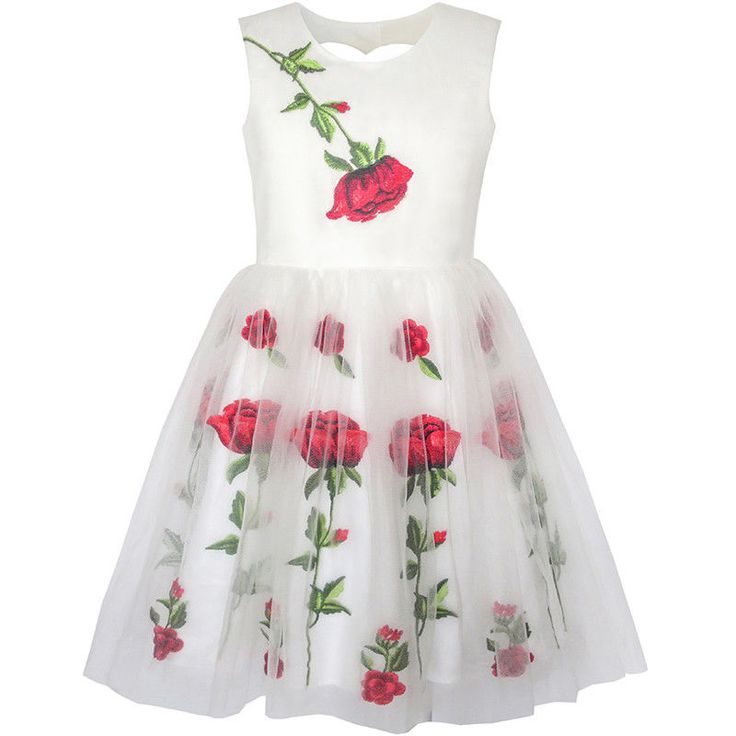 Embroidery Dresses for Girls