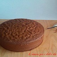 Genoise (o pasta genovese) al cacao