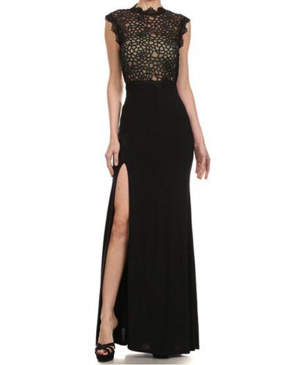 Shop White Lace Prom Dress Miami, Shop Black Formal Dress Miami, Shop Evening Gowns Miami, Vestido de Noche Miami, Vestido de Noite Miami