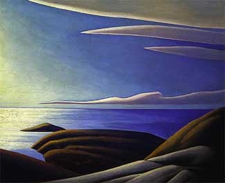 Lawren S. Harris ~ 'Lake Superior III' Harris is also the only member of the Group who kept pushing his painting, never resting for long with one style or one species of subject matter. Long after the Group disbanded, Harris continued to grow and change as a painter, moving eventually into art deco and pure abstraction. He was also a talented ceramicist, and in 1922 he published a volume of poems.