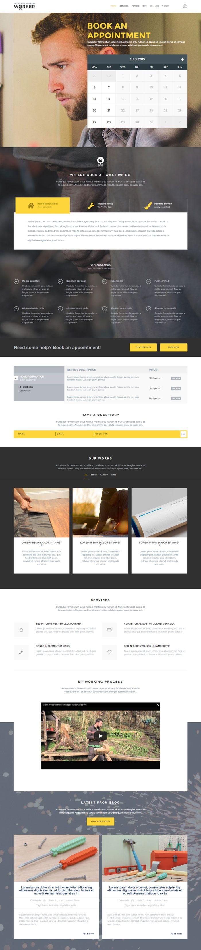 51 mejores imágenes de Best HTML Website Templates en Pinterest ...