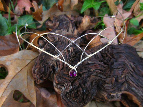 Elven Circlet middeleeuwse Elven kroon Elven door RoseMoonBoutique