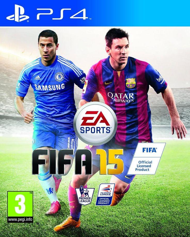 Een van mijn favoriete spellen op de PS4! FIFA 15!