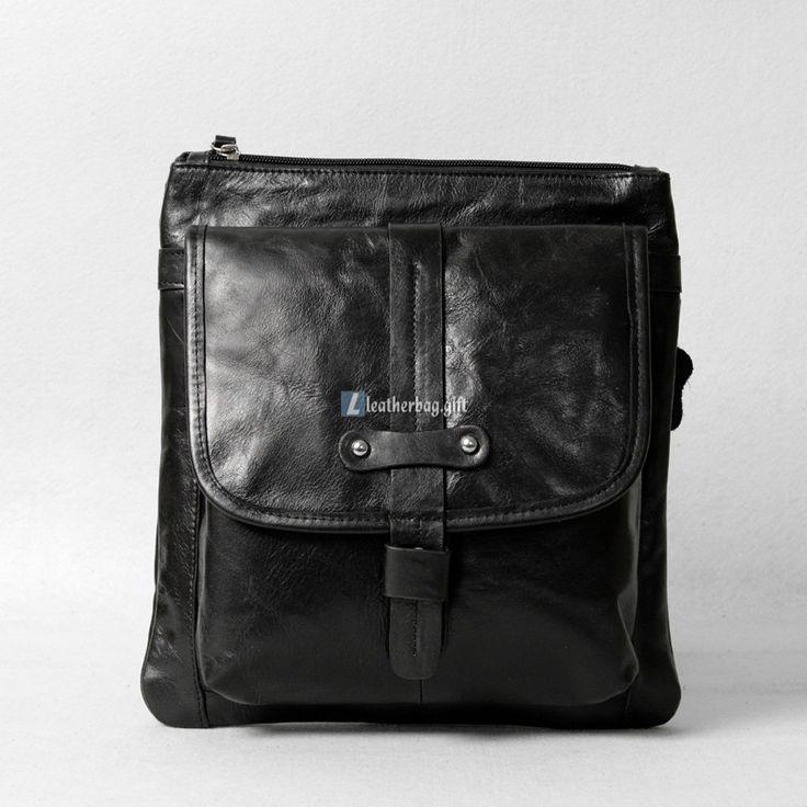 Best 25  Black leather messenger bag ideas only on Pinterest ...