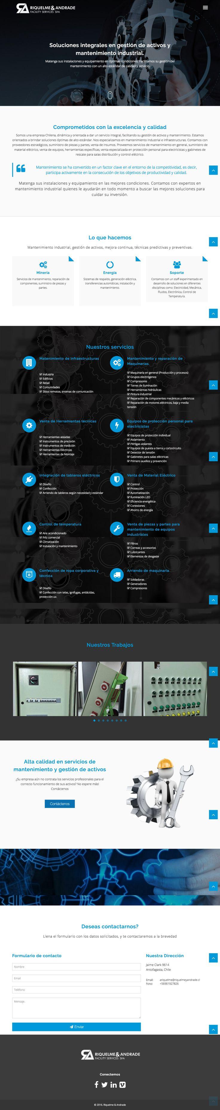 Riquelme y Andrade | Facility Services
