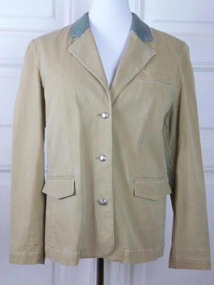 Austrian Vintage Trachten Jacket, Beige Green Single-Breasted European Blazer. Traditional Alpen Walking Jacket: Size 12 US, Size 16 UK by YouLookAmazing on Etsy