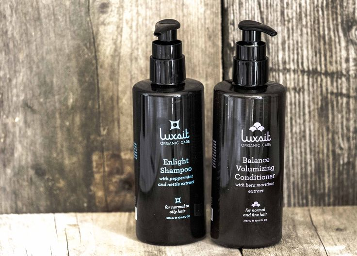 Luxsit Organic Care made in Sweden Shampoo and Conditioner
