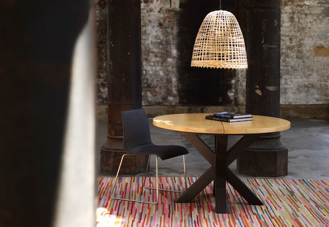 adore the rug and light