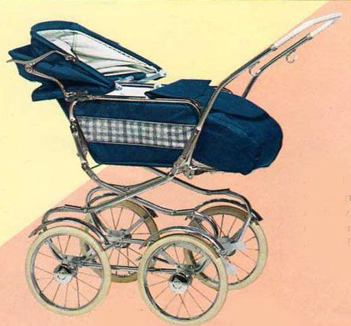 SVENSKTILLVERKADE BARNVAGNAR FRÅN 1960-TALET AWN 798 LA En nyhet för 1968. Lite väl hög vagn. Ryggstödet är ställbart i 3 olika lägen. Vävplast och celluloidhandtag. Vikt: 15 kg.