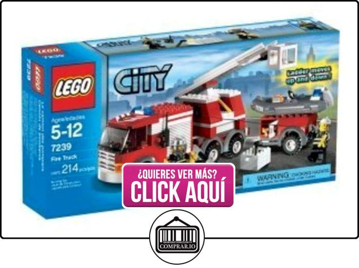 LEGO City Fire Truck (7239) by LEGO  ✿ Lego - el surtido más amplio ✿ ▬► Ver oferta: http://comprar.io/goto/B00TT87Y1C