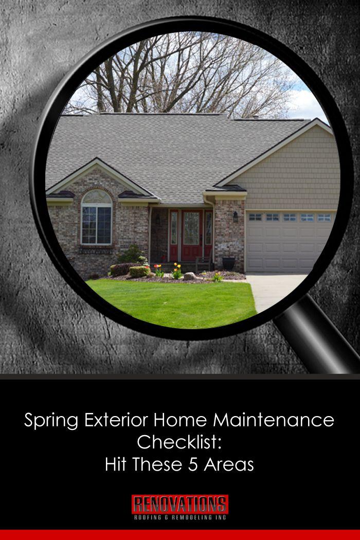 17 best ideas about home maintenance checklist on - Exterior home maintenance checklist ...