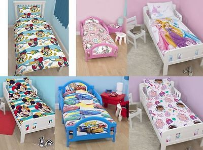 Character #disney #junior toddler cot bed duvet cover #pillowcase set new,  View more on the LINK: http://www.zeppy.io/product/gb/2/262695842771/