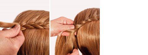 Technique Braiding: Annerose Cutivel's classic hair ring – imsalon.at – Hair & Beauty Austria