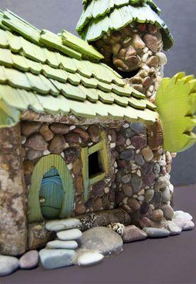 Fairy Houses by Fairy Woodland