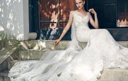 Collezione 2016 abiti da sposa Badgley Mischka [FOTO] - La collezione 2016 di abiti da sposa Badgley Mischka ci propone modelli raffinati e romantici: tutte le foto della linea.