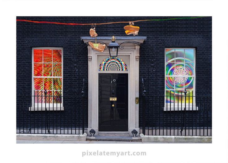 Downing Street – pixel•ate•my•art