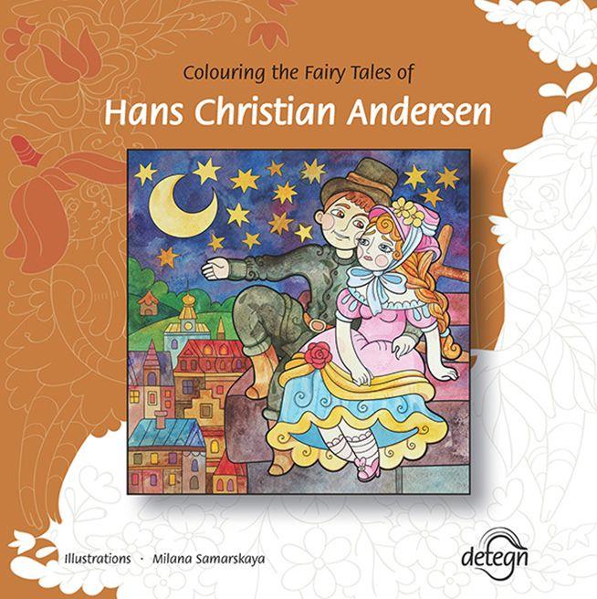 Colouring the Fairy Tales of Hans Christian Andersen, Milana Samarskaya, drawing, colouring book