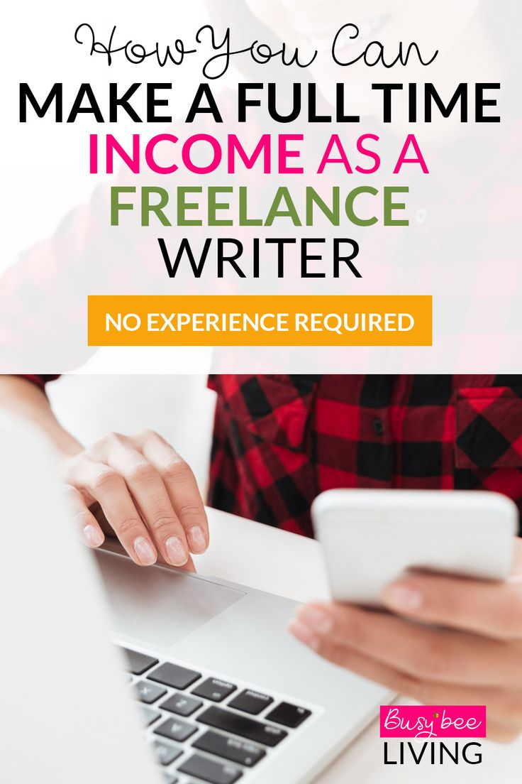 Want to make money online? Become a freelance writer! You can work whenever you want and earn as much as like! This is the perfect way to work from home and set your own hours. Great for stay at home moms or students who need to pay off any student loans.