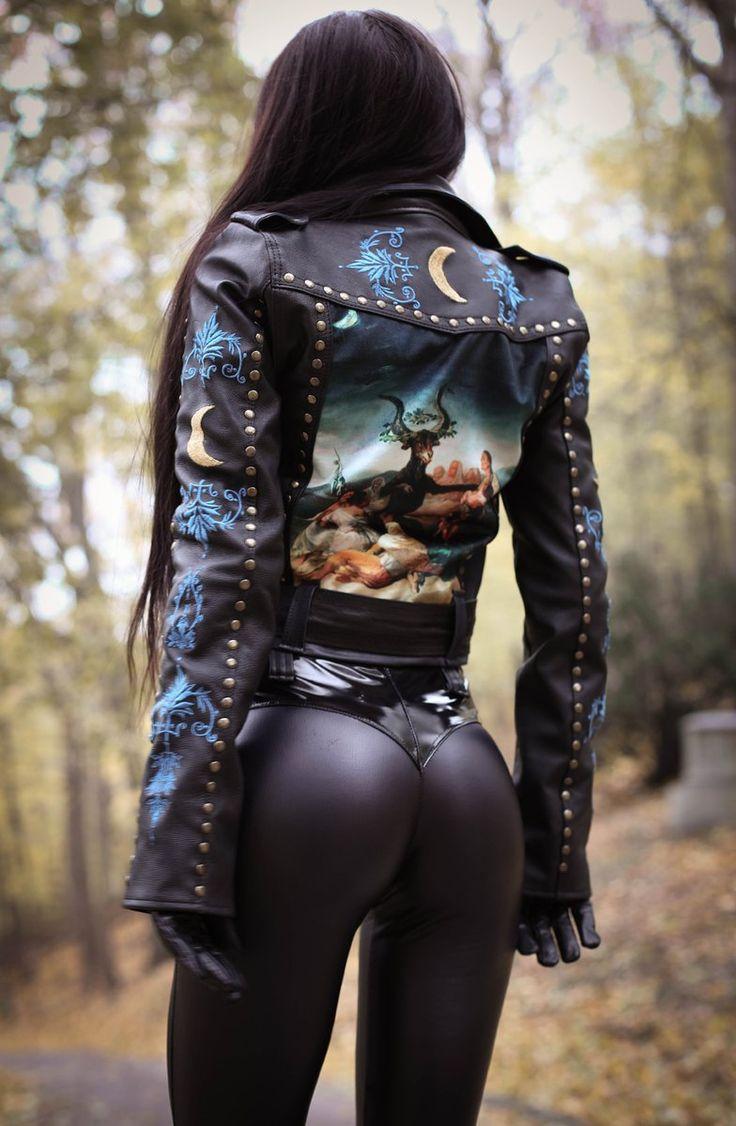54 best mode images on Pinterest | Feminine fashion, Leather and ...