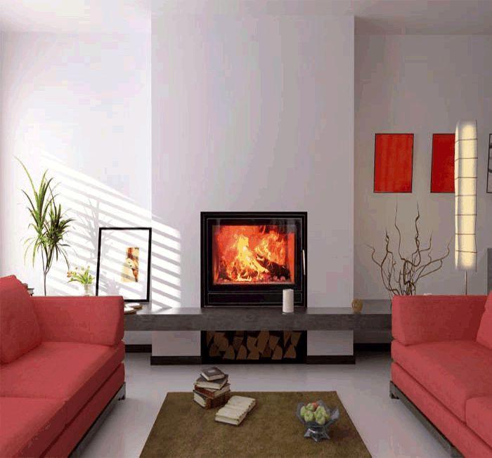 Wittus Optifire wood-burning stove insert | Fireplace