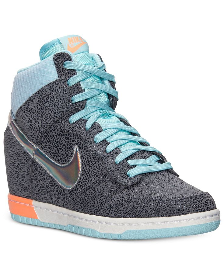 womens nike dunk sky hi queen of hearts casual shoes
