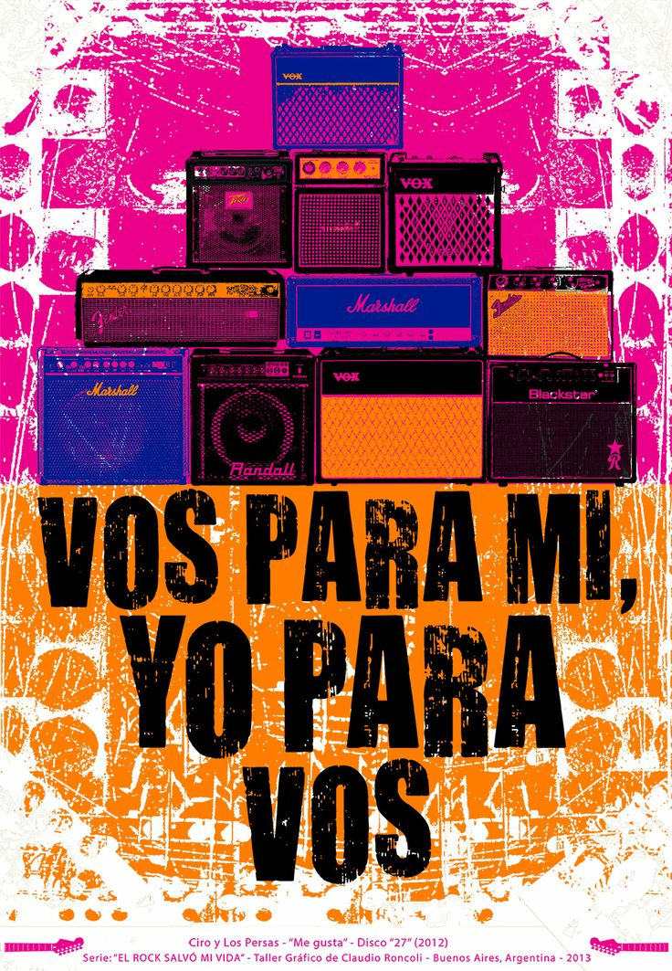 EL ROCK SALVÓ MI VIDA Proyecto Audio Visual #quierounroncoli