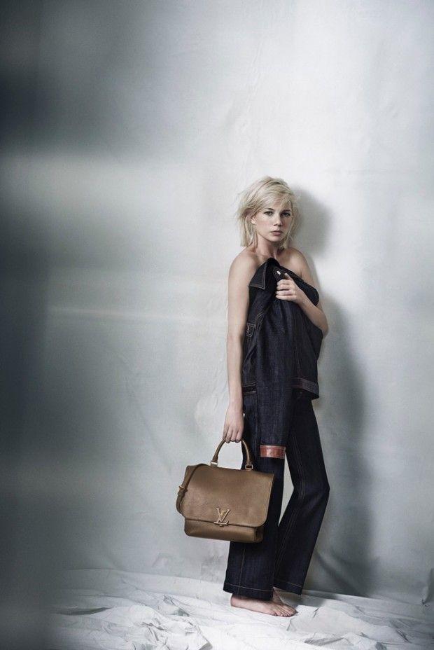 Peter Lindbergh Photographers Michelle Williams for Louis Vuitton