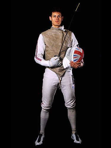 G.B. fencer Richard Kruse
