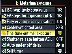 Nikon D7000 Exposure