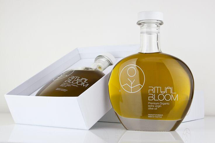 Ritual Bloom Olive oil Branding & Packaging on Behance
