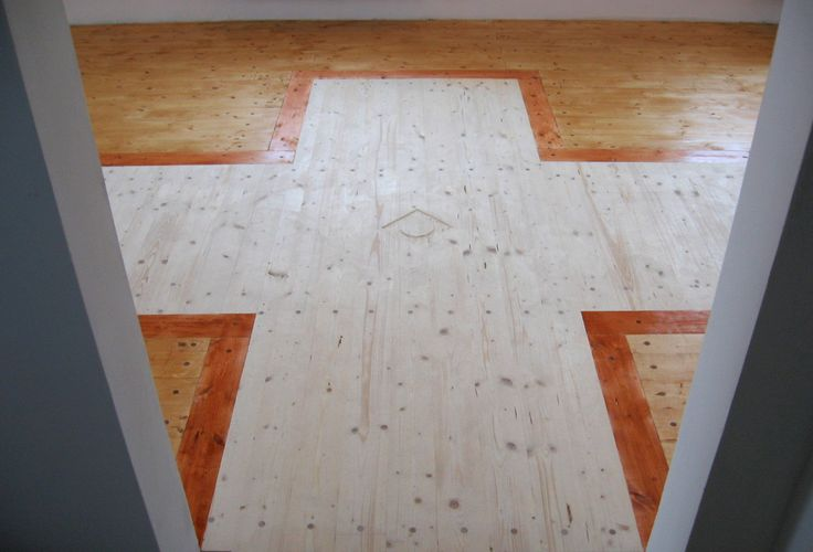 L. Svobodova Apartment / ecovastudesign / staining the floor with pigmented natural oils / 2010