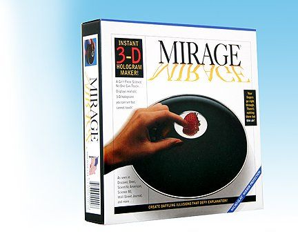 Mirage 3-D Instant Hologram Maker, 2015 Amazon Top Rated Magic Kits & Accessories #Toy