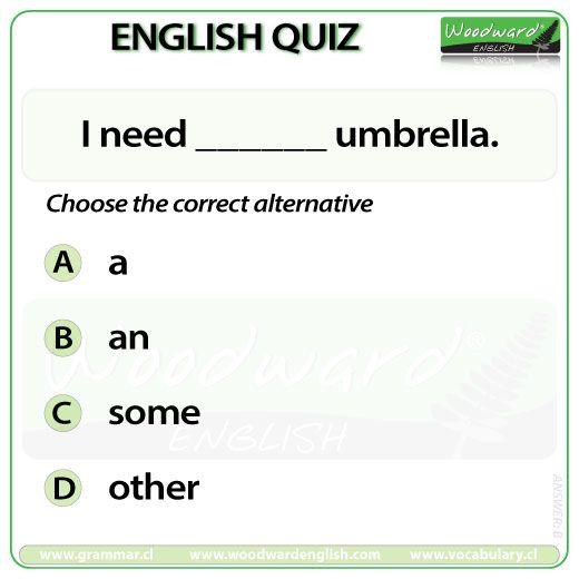 Woodward English Quiz 62  #ESL #ELL
