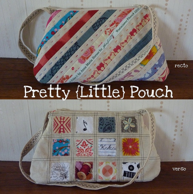 Pretty Little Pouch by -Vivie-, via Flickr   love the use of selvedges