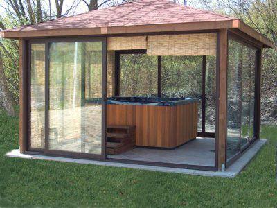 Oltre 25 fantastiche idee su copertura per veranda su for Casette con portici