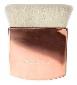 BECCA The One Perfecting Brush - Blushed Copper (Limited Edition). Limited Edition Color. Use this brush with liquid and powder foundations. Works well for layering liquid or powders over foundation application. Pairs well with all BECCA Foundation formulas, Shimmering Skin Perfector liquid or pressed and the Beach Tints.