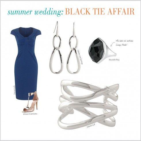 Summer Wedding-Black Tie Affair Stylewatch @ http://www.stelladot.com/aileenzierold