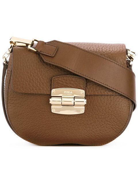 FURLA . #furla #bags #shoulder bags #leather #lace #
