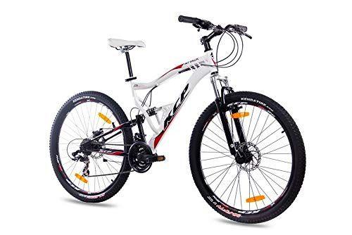 Kcp 27 5 Zoll Mountainbike Fahrrad Mtb Attack Weiss Schwarz